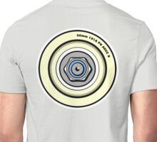 Skateboard Wheel Graphic Back  Unisex T-Shirt