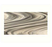 Woven Fields Art Print