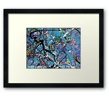 BUBBLE GUM 072.7b Framed Print