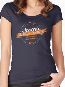 Scotty's Dilithium Crystals Women's Fitted Scoop T-Shirt