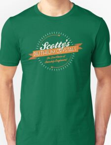 Scotty's Dilithium Crystals Unisex T-Shirt