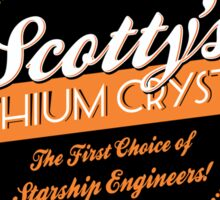 Scotty's Dilithium Crystals Sticker