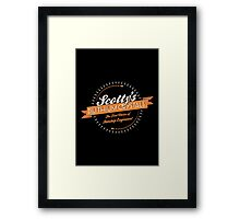 Scotty's Dilithium Crystals Framed Print