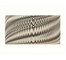 Woven Fields II Art Print