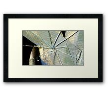 Duct Tape At Work Framed Print