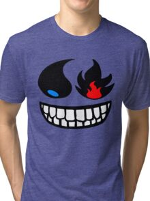 Pokemon fire and water face Tri-blend T-Shirt