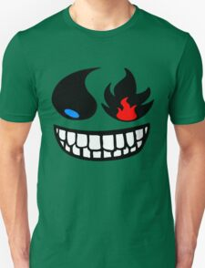 Pokemon fire and water face T-Shirt