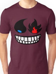Pokemon fire and water face Unisex T-Shirt