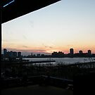 Sunset Over New Jersey, View from High Line, New York by lenspiro