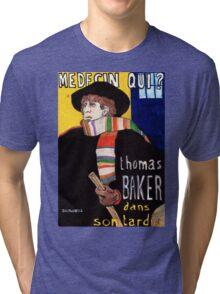 Medecin Qui? Tri-blend T-Shirt