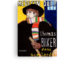Medecin Qui? Canvas Print