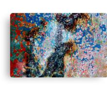 The Fine Art of Peelin' Paint Canvas Print