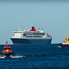 Queen Mary 2 by Darren Speedie