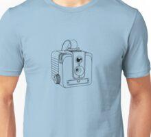 Brownie Hawkeye No Flash - Black Lines - No Text Unisex T-Shirt