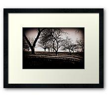 Stark Twilight Framed Print