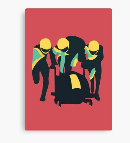 Cool Runnings Canvas Print