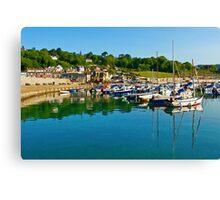 Early Summer ~ Lyme Regis Canvas Print