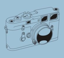Leica M3 - Black Line Art - No Text by jphphotography