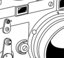 Leica M3 - Black Line Art - No Text Sticker