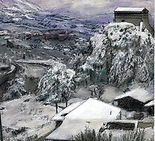 Chiesa San Vito In The Snow by Randy Sprout