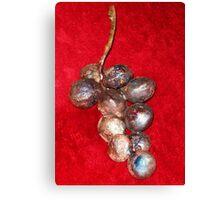 11 Grapes Canvas Print