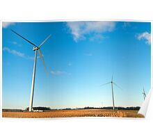 The Wind Farm Poster