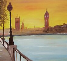 London 2 by Monika Howarth