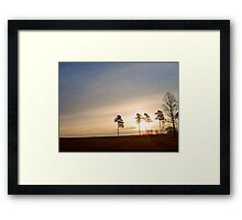 Morning Solitude #1 Framed Print