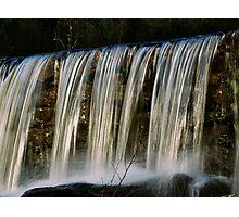 Cross Process Waterfall #2 Photographic Print