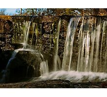 Cross Process Waterfall #4 Photographic Print