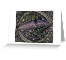 Wave Form 2 Greeting Card