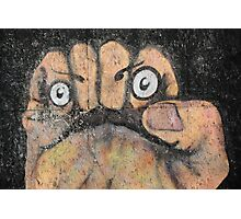 Fist Face Photographic Print