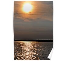 SunSet at Wolf Bay Poster