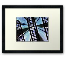 Windows of exploration and discovery Framed Print