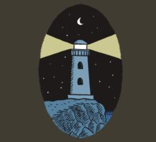 The Lighthouse (breast logo version) by Dylan Horrocks