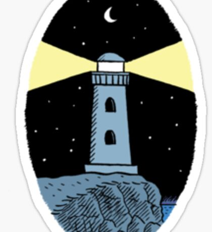 The Lighthouse (breast logo version) Sticker