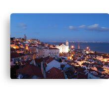 Lisbon cityscape Canvas Print