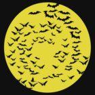 bats & butterflies 2  by IanByfordArt