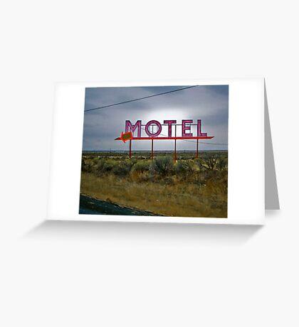 motel 2 Greeting Card