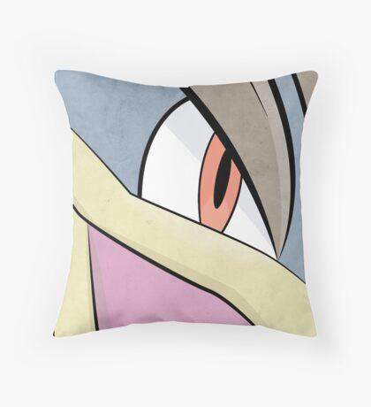 Machamp - Pokemon Art Poster Minimalistic Throw Pillow