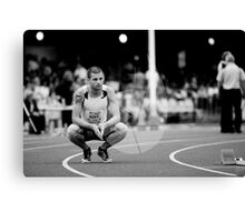 Hunter Track Classic - Mens 400m Hurdles Canvas Print