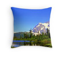 """Spring Time in the Cascades"" Throw Pillow"