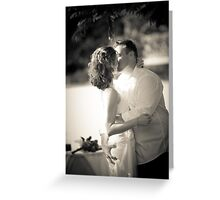 You May Now Grab the Bride. Greeting Card
