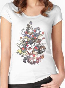 Moogle Fantasy Women's Fitted Scoop T-Shirt