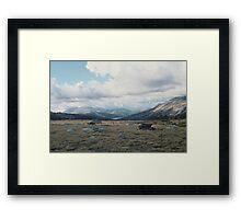 High Mountain Plain, Yosemite National Park Framed Print