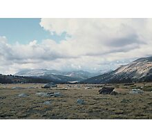 High Mountain Plain, Yosemite National Park Photographic Print