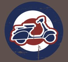 Aged Mod Target and scooter logo Kids Clothes