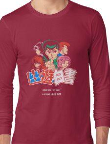 Yu Yu Pixels Long Sleeve T-Shirt