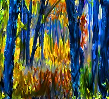 The Finger Painted Forest by JohnDSmith