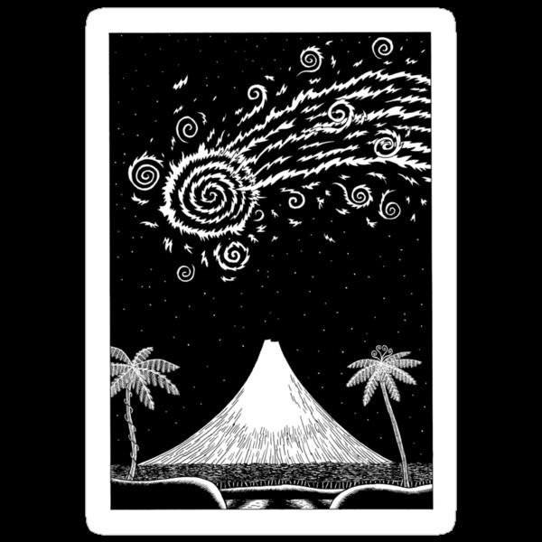 Comet over Taranaki by Dylan Horrocks